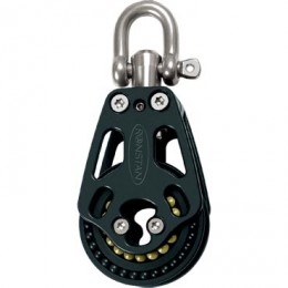 Block and tackle pulley system consists of more than one block with rope, are termed tackle.